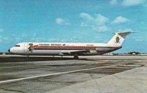 6904 Aviation Postcard  CAYMAN BAC-111-531FS   Airlines