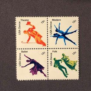 1749-1752, American Dance (4), Mint OGNH, CV $3.00