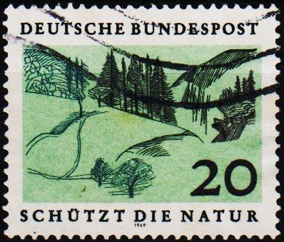 Germany. 1969 20pf S.G.1490 Fine Used