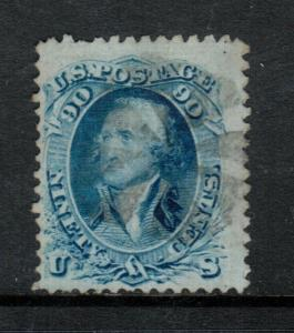 USA #72 Used Fine With Light Cancel