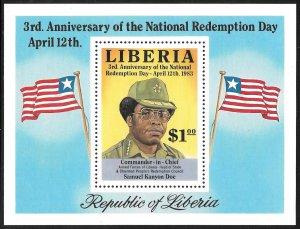 Liberia Mint Never Hinged ~ Souvenir Sheet ~ [9202]