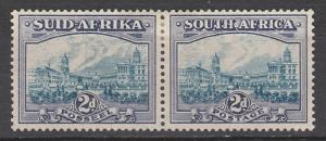 SOUTH AFRICA 1933 UNION BUILDINGS 2D BLUE AND VIOLET