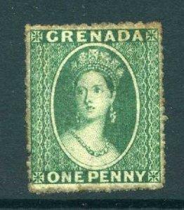 Grenada 1863 Chalon 1d green wmk small star SG 4 mint