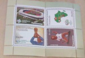 Tanzania Football World Cup 2006 Scott Cat # 2416a mnh