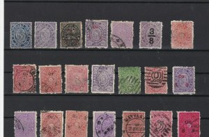 india states mixed used and unused old stamps ref r10401