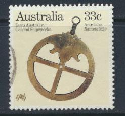 SG 993   Fine Used  - Australian Settlement 3rd Issue