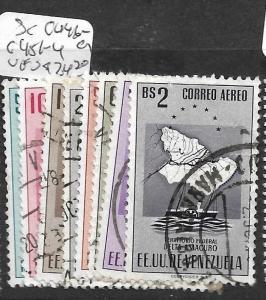 VENEZUELA  (P2404B)  DELTA AMACURO  ARMS  SC C446-9, 451-4  VFU