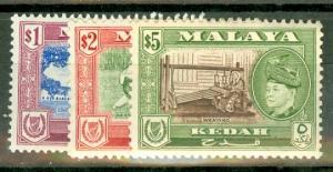 Malaya Kedah 83-93 mint CV $108.80