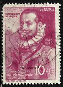 Angola 1948 Scott# 313 Used