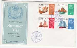 Summer Isles - Scotland, Sailing Ships & The Queen's Silver Jubilee, First Day