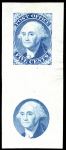 MALACK 9x1E1a SUPERB, Dull Blue, Die on India,  Fres..MORE.. gg1069