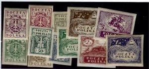 Poland SC#81-92 Mint VF SC$59.00... Popular Country!