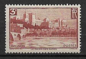 1938 France 344 Avignon 3F MH