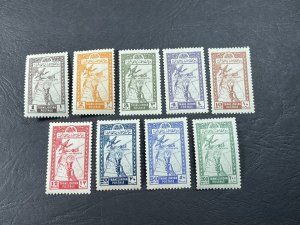 JORDAN # 221-229-MINT/HINGED--COMPLETE SET--1946