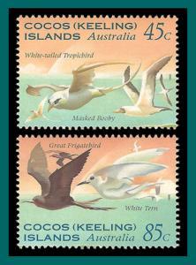 Cocos 1995 Sea Birds, MNH #300-301,SG323-SG324