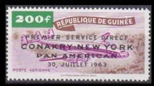 1963 Guinea 210 Airplane / Overprint 5,00 €
