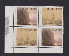 CANADA PLATE BLOCK MNH STAMPS #852a LOT#PB530