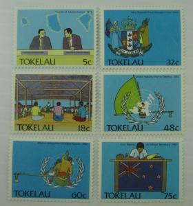 1988 Tokelau SC #151-56 POLITICS  MNH  stamp set