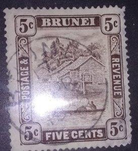 Brunei Scott #55 (1907)