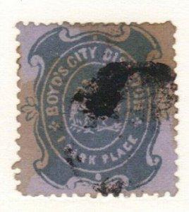SCOTT # 20L35B  bOYDS CITY DISPATCH
