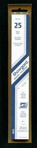 Showgard BLACK Strip Mounts Size 25.5mm High X 215mm  Long U.S Reg Commem Size