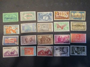 French Colonies / Area Assortment -  Hinged- (5D4) WDWPhilatelic #12