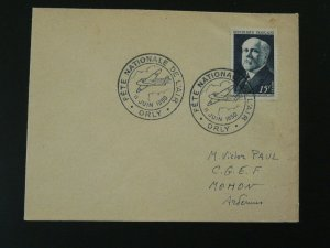 aircraft national week of aviation postmark on cover 1950