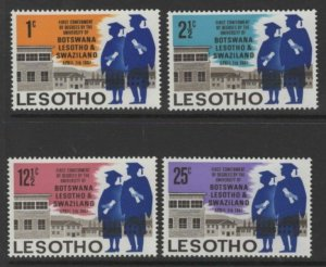 LESOTHO SG137/40 1967 FIRST CONFERMENT OF UNIVERSITY DEGREES MNH