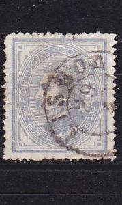 PORTUGAL [1880] MiNr 0052 C ( O/used )