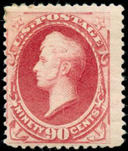 momen: US Stamps #191 Mint OG WEISS Cert