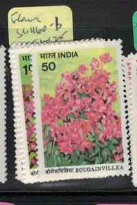 India Flowers SG 1160-1 MNH (1etv)