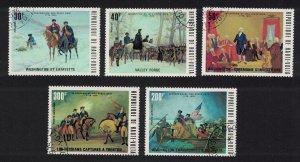 Upper Volta America 5v 1976 CTO MI#569-573 SC#365-367+C209-210