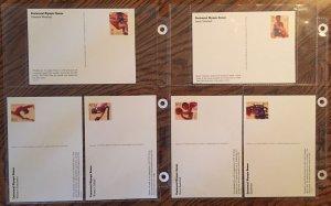 US UX261a Mint Unused Postal Card Set (UX242-UX261) Olympics