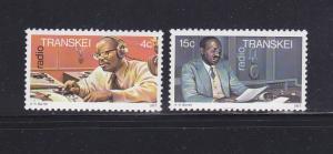 South Africa Transkei 36-37 Set MNH Radio
