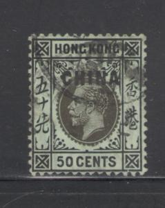 Great Britain Offices China 1917 Overprint Scott # 11 Used