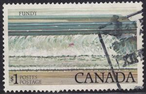 Canada 726a USED 1979 Bay of Fundy National Park $1.00