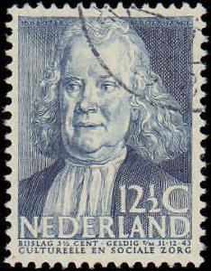 1938 Netherlands #B103-B107, Complete Set(5), Used