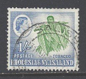 Rhodesia & Nyasaland Sc # 165 used (RS)