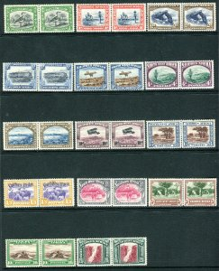 SOUTH WEST AFRICA-1931  A mounted mint set to 20/- Sg 74-87