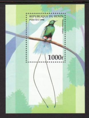 Benin Birds 896 Souvenir Sheet MNH VF