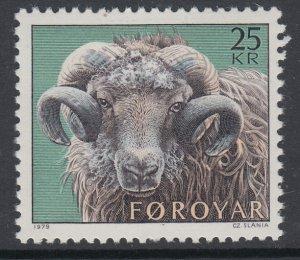 Faroe Islands 42 Ram MNH VF