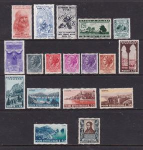 Italy a small mint lot from about 1950's
