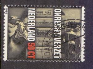 Netherlands 1985  used liberation 50 ct   #