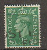 GB George VI  SG 485 Used
