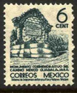 MEXICO 842 6cts 1934 Definitive Wmk Gobierno... (279) MINT, NH. F-VF.