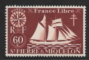 Saint Pierre and Miquelon Mint Never Hinged [4142]