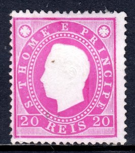 St. Thomas and Prince Islands - Scott #17 - Used - SCV $3.00