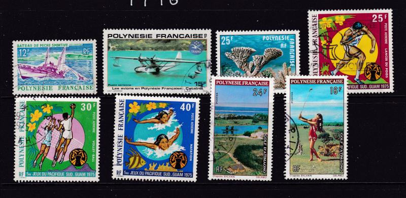 French Polynesia a small lot of better items good/fine used