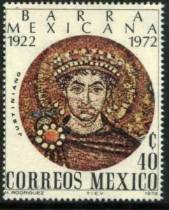MEXICO 1045, 50th Anniv. of the Mexican Bar Association.. MINT, NH. F-VF.