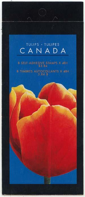 Canada - 2002 Tulips Complete Booklet #BK257b